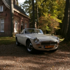 Witte MG MGB
